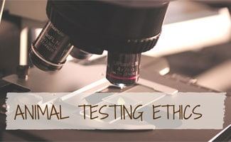 Microscope: Animal Testing Ethics
