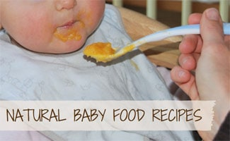 Baby eating spoon full of food: Baby Food Recipes