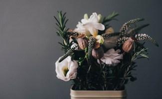 Flowers in hospital