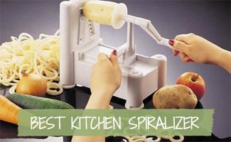 Spiralizer Reviews: Veggetti vs Paderno vs Kitchen Supreme