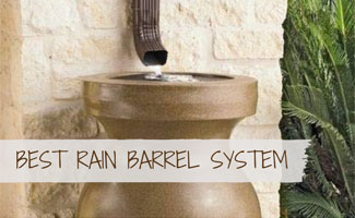 Rain Barrel System For Collecting Rainwater
