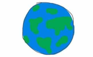 Sketch of Planet Earth