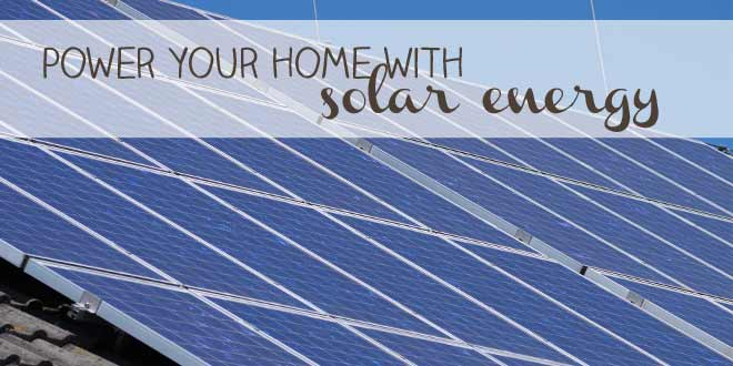 Solar Pannel: Power your home with solar energy