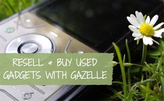 Gazelle Reviews: Cell phone in grass