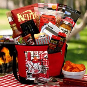 Gift Baskets Plus grilling basket
