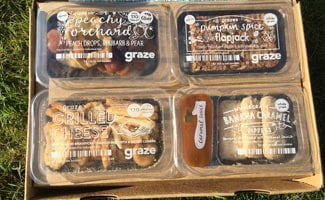 Inside Graze box: Graze Reviews