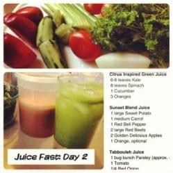 Juice day 2