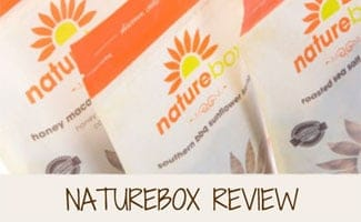 3 bags of naturebox snacks: NatureBox Reviews