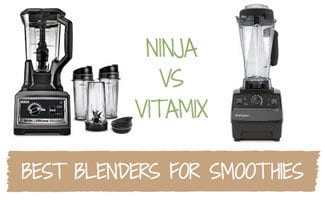 Two blenders side by side