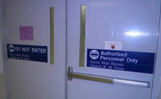 Operating room doors