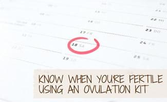 Circle on calendar: Best Ovulation Kits