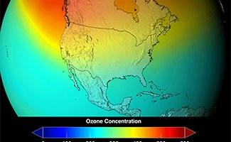 Map of Ozone Depletion
