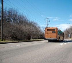 Pittsburgh city bus
