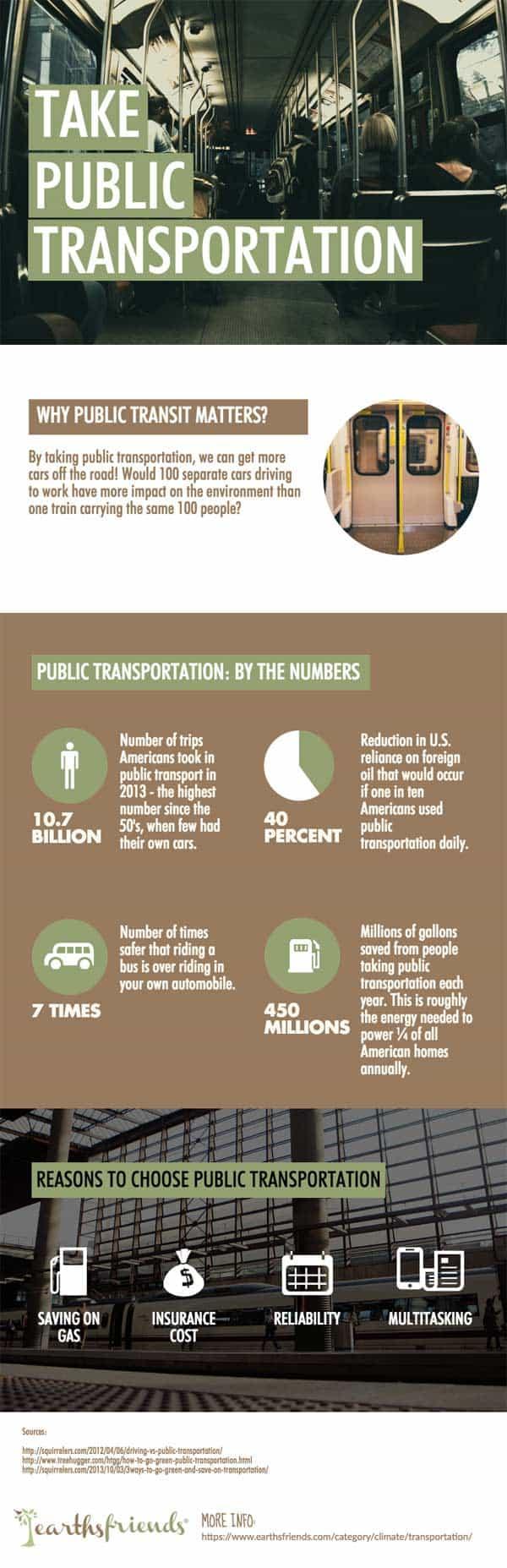 Public Transit Infographic