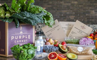 Purple Carrot box