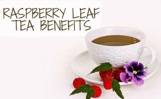 Cup of raspberry tea: Raspberry Leaf Tea Benefits