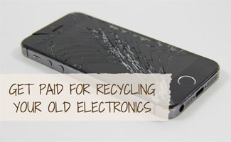 Cracked iPhone: Get Paid For Recycling Your Old Electronics