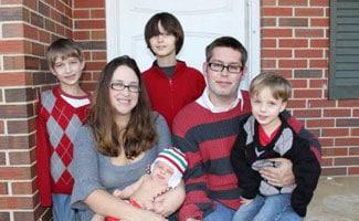 Rose family in 2011