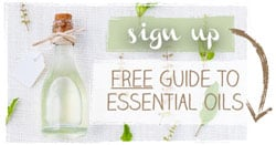 Newsletter Sign-Up: Free Guide to Essential Oils