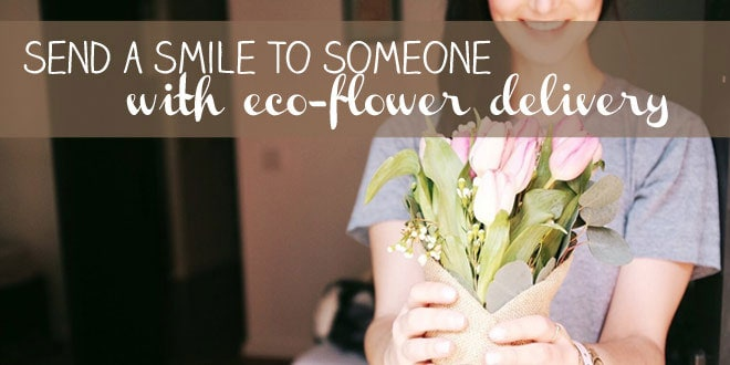 Send a Smile to Someone With Eco-Flower Delivery