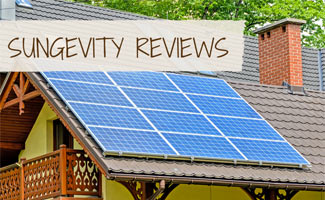 Solar pannel on roof: Sungevity Reviews