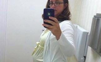 Surrogate mom selfie