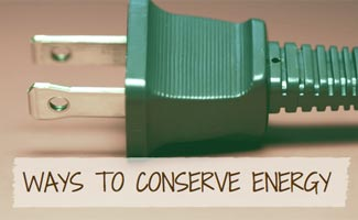 Plug: Ways to Conserve Energy
