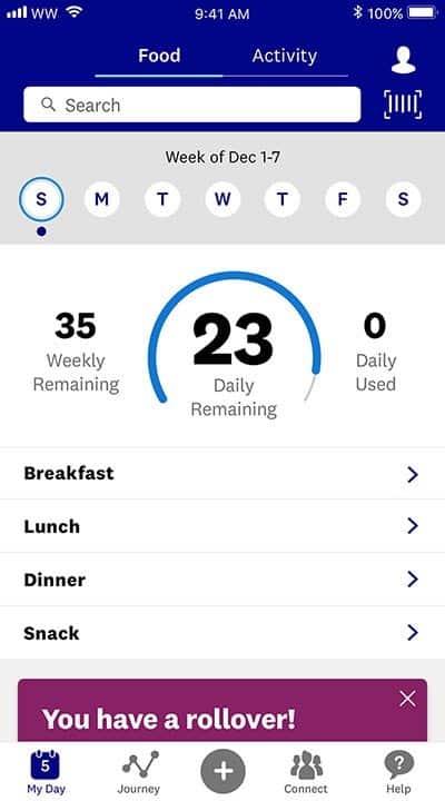 SmartPoints System screenshot of app