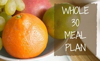 Whole30 Meal Plan Review